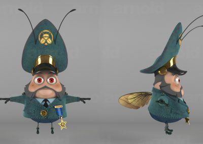 Moskardoff Character